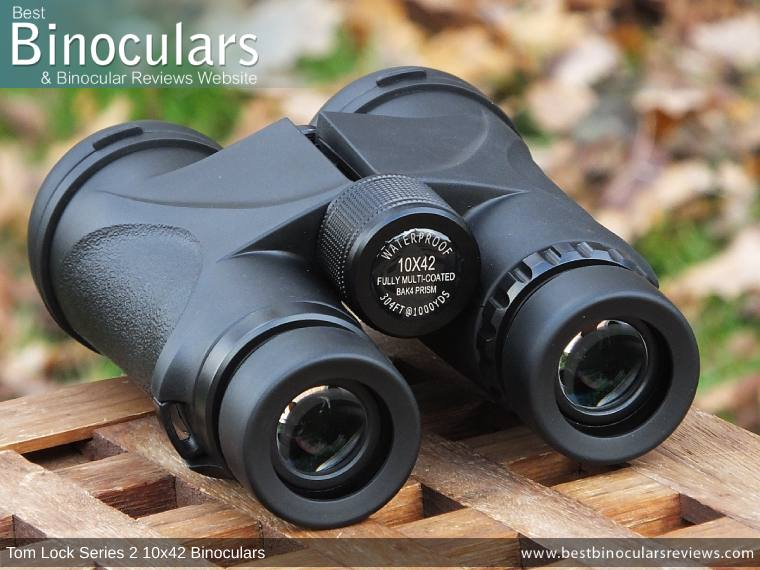 Tom Lock Series 2 10x42 Binoculars - Focus Wheel