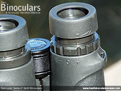 Diopter Adjustment on the Tom Lock Series 2 8x42 Binoculars