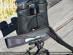 Neck Strap included with the Tom Lock Series 2 8x42 Binoculars