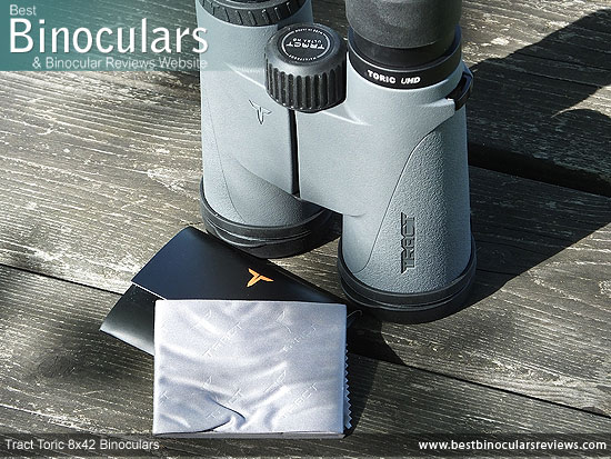 Instructions & Warranty Info for the Tract Toric 8x42 Binoculars