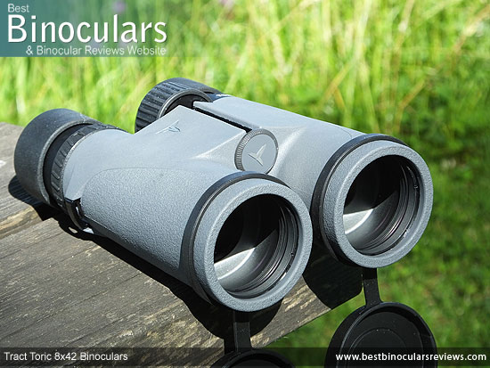 42mm Objective Lenses on the Tract Toric 8x42 Binoculars