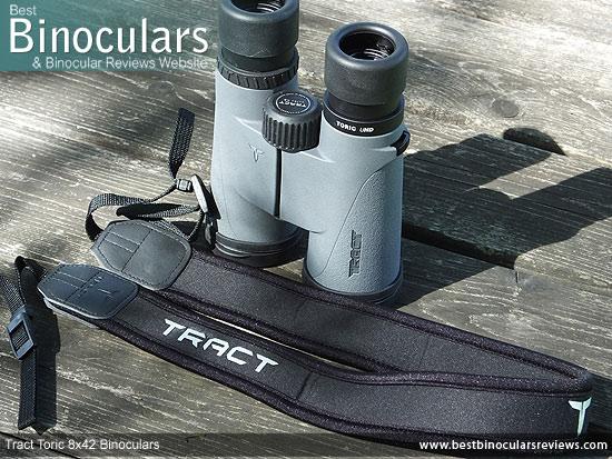 Tract Toric 8x42 Binoculars neck strap