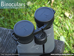 Rain Guard on the Tract Toric 8x42 Binoculars