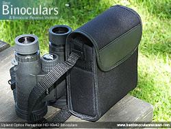 Upland Optics Perception HD 10x42 Binoculars Field Bag