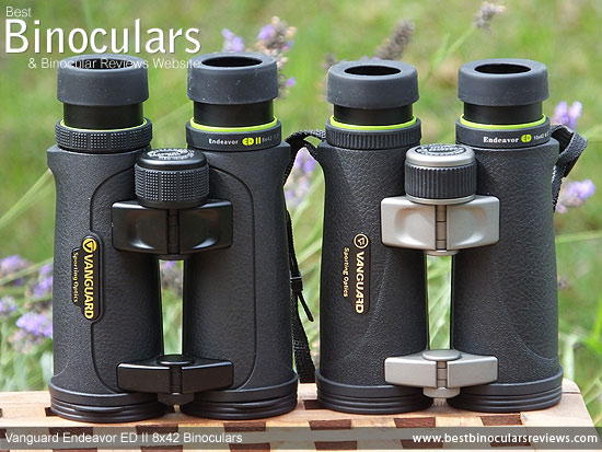 Comparing the Vanguard Endeavor ED II with the older Vanguard Endeavor ED Binoculars