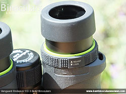 Diopter Adjustment on the Vanguard Endeavor ED II Binoculars