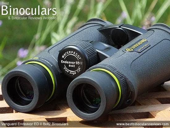 Focus Wheel on the Vanguard Endeavor ED II Binoculars