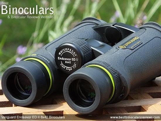 Focus Wheel on the Vanguard Endeavor ED II Binoculars