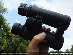 Openbridge design of the Vanguard Endeavor ED II Binoculars