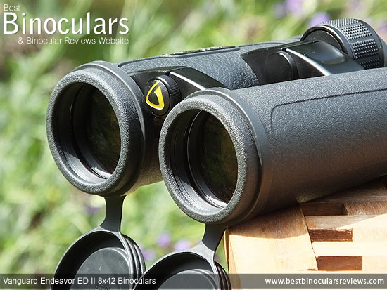 Objective Lenses on the Vanguard Endeavor ED II Binoculars