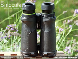 Underside of the Vanguard Endeavor ED II Binoculars