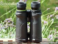Underside of the Vanguard Endeavor ED II Binoculars