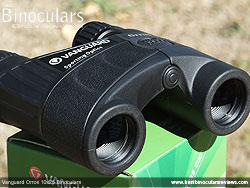 Objective Lenses on the Vanguard Orros 10x25 Binoculars