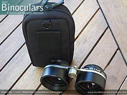 Rear view of the Carry Case & Vixen SG 2.1x42 Binoculars