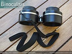 Hand Strap included with the Vixen SG 2.1x42 Binoculars