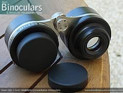 Ocular Lens covers for the Vixen SG 2.1x42 Binoculars