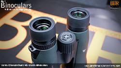 Eyecups on the Vortex Diamondback HD 15x56 Binoculars
