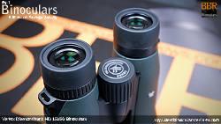 Ocular Lenses on the Vortex Diamondback HD 15x56 Binoculars