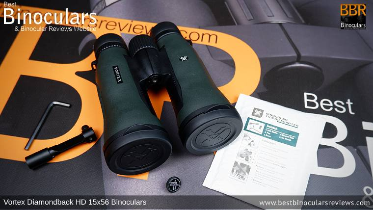 Vortex Diamondback HD 15x56 binoculars & Included Tripod Adapter