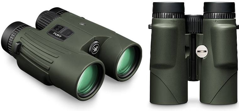 Vortex Fury HD Rangefinder Binoculars - Side and Underside Views