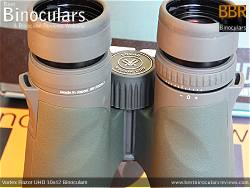 Diopter Adjustment on the Vortex Razor UHD 10x42 Binoculars
