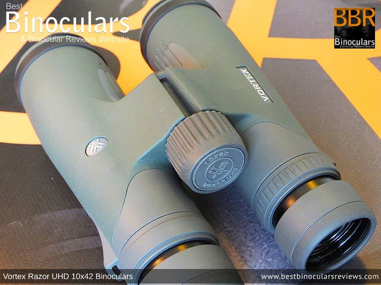 Adjusting the Focus Wheel on the Vortex Razor UHD 10x42 Binoculars