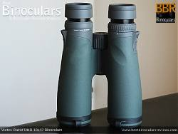 Underside of the Vortex Razor UHD 10x42 Binoculars