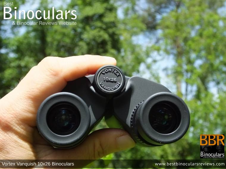 Adjusting the Focus Wheel on the Vortex Vanquish 10x26 Binoculars