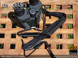 Neck Strap included with the Vortex Vanquish 10x26 Binoculars