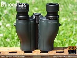 Underside of the Vortex Vanquish 10x26 Binoculars