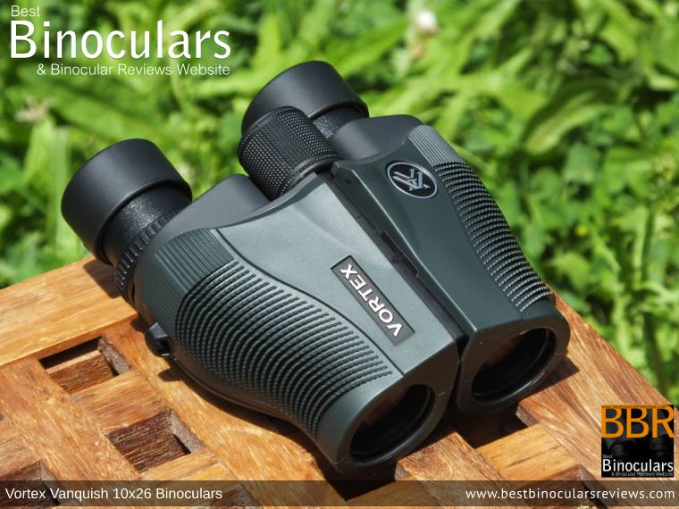 26mm Objective Lenses on the Vortex Vanquish 10x26 Binoculars