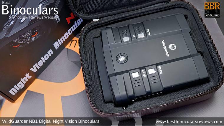 WildGuarder NB1 Digital Night Vision Binoculars Carry Case