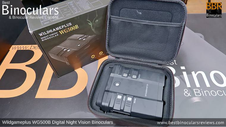 Wildgameplus WG500B Digital Night Vision Binoculars Carry Case