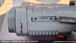 Ports on the Wildgameplus WG500B Digital Night Vision Binoculars