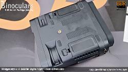 Underside of the Wildgameplus WG500B Digital Night Vision Binoculars