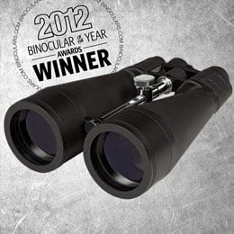 Binoculars.com's Best Astronomy Binocular 2012 - Zhumell 20x80 SuperGiant Binoculars