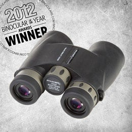 Binoculars.com's Reviewer's Choice Award 2012 - Zhumell 10x42 Short Barrel Waterproof Binoculars