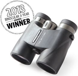 Binoculars.com's Reviewer's Choice Award 2013 - Zhumell 10x42 Short Barrel Binoculars