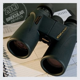 Binoculars.com's Binocular of the Year 2010 - Nikon Monarch ATB 10x42