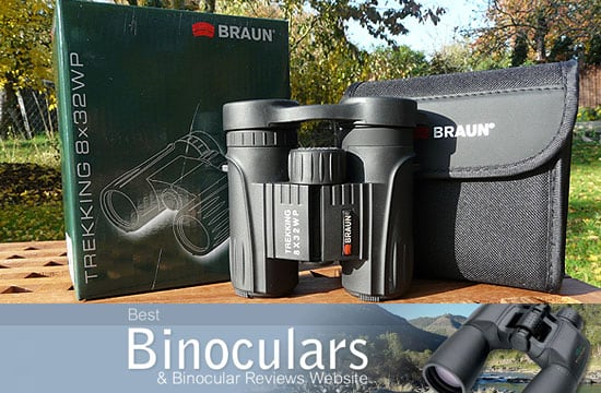 Braun Trekking 8x32 WP Binoculars including carry case