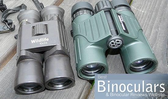 Single hinge vs duel hinge compact binoculars