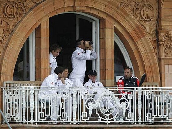 Watching Cricket with Binoculars