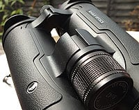 The focussing wheel on the Eagle Optics Ranger ED 8x42 Binoculars