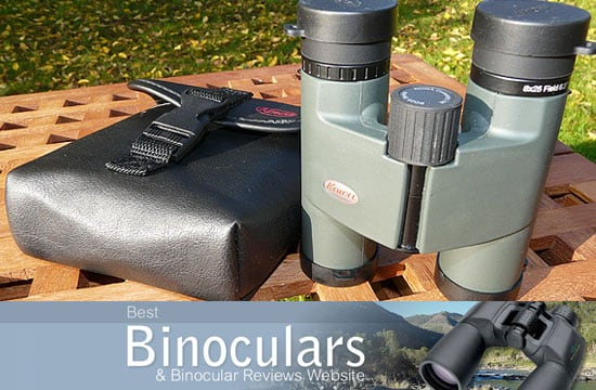 Kowa BD 8x25 Binoculars including carry case