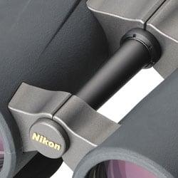 The Open Bridge Design of the Nikon Monarch X 8.5x45DCF binoculars