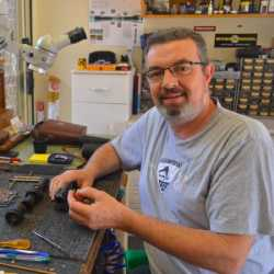 Optical Repairs Owner Malcolm