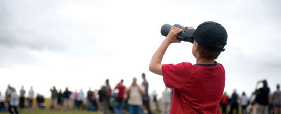 Plane Spotting Binoculars for Airshows