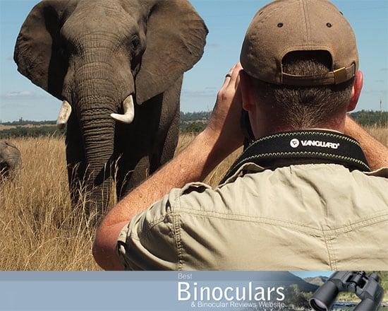 Vanguard Spirit ED 8x42 Binoculars with me on Safari