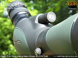 Two-speed on the Bresser Pirsch 20-60x80 Spotting Scope