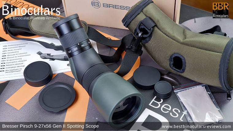 Accessories for the Bresser Pirsch 9-27x56 Gen II Spotting Scope